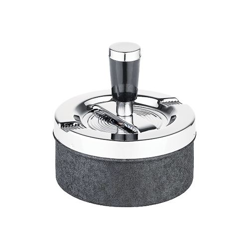 spinningashtray9cmstonefinish40093