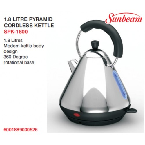 sunbeam18lpyramidkettle