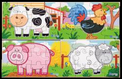 4 Puzzle box farm