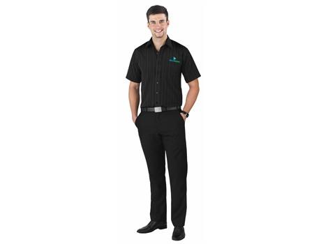 Jennings Mens Flat Front Pants - black