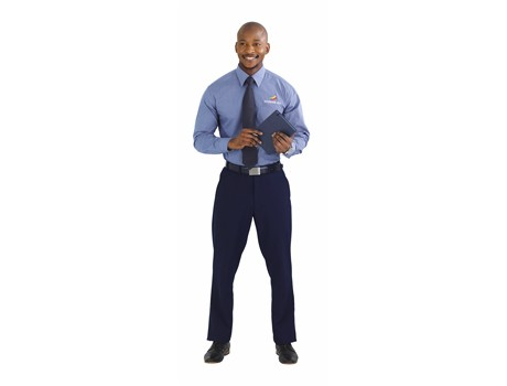Jennings Mens Flat Front Pants - navy