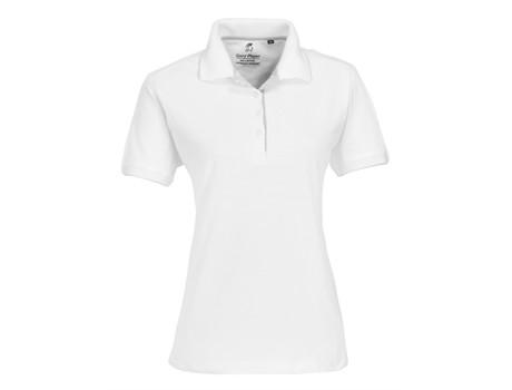 Ladies Wentworth Golf Shirt - white