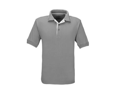 Mens Wentworth Golf Shirt - grey