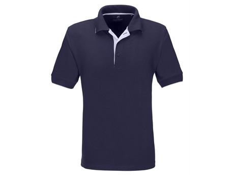 Mens Wentworth Golf Shirt - navy