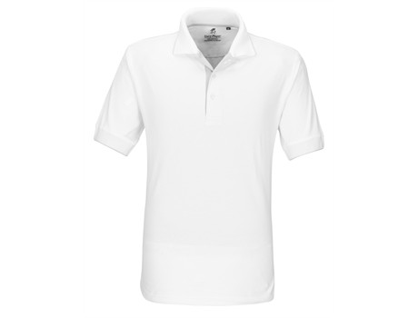 Mens Wentworth Golf Shirt - white