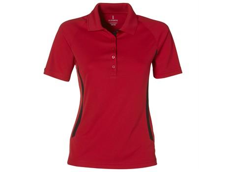 Mitica Ladies Golf Shirt - red