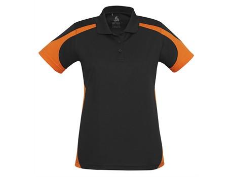 Talon Ladies Golf Shirt – orange