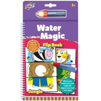 Water Magic - Flip book jungle