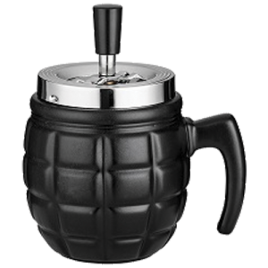 Spinning Ashtray - Grenade Black