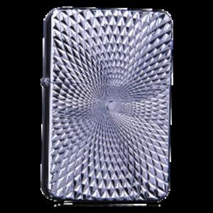 Zorro Lighter - Silver Illusion Engraving