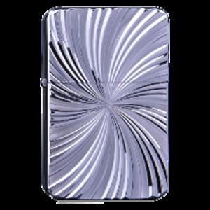 Zorro Lighter - Silver Whirl Engraving