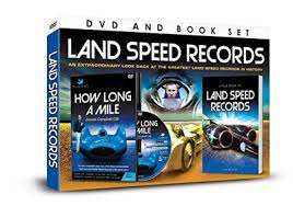 Land speed records dvd and book