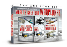 Warplanes dvd and book