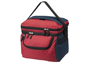 Double-up cooler - red navy