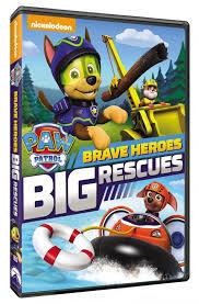 Paw patrol - brave heroes