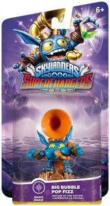 SKYLANDERS SUPERCHARGERS BIG BUBBLE POP FIZ (MAGIC)