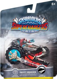 SKYLANDERS SUPERCHARGERS CRYPT CRUSHER VEHICLE (UNDEAD)