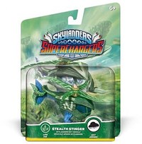 SKYLANDERS SUPERCHARGERS STEALTH STINGER VEHICLE (LIFE)