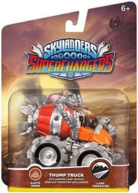 SKYLANDERS SUPERCHARGERS THUMP TRUCK VEHICLE (EARTH)