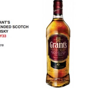 Grants Whiskey 1L