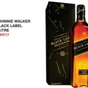 Johnny Walker black label 1L