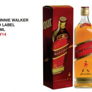 Johnny Walker red lable