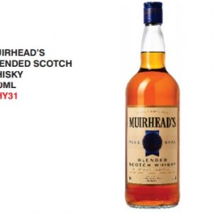 Muirheads whisky