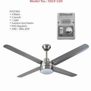 Sunbeam 56 inch 140cm Industrial Domestic Ceiling Fan