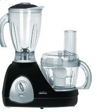 Sunbeam Food Processor and Blender Black