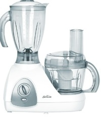 Sunbeam Food Processor and Blender White