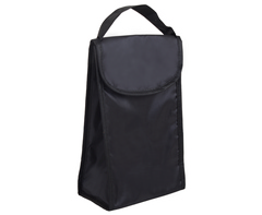 Foldable Lunch Cooler - black