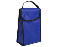 Foldable Lunch Cooler - bleu