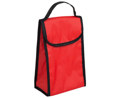 Foldable Lunch Cooler - red