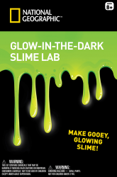 Glow-in-the-dark Slime Lab
