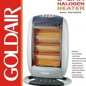 Goldair Haolgen heater GHH-3000A fab