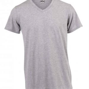 Unisex V-neck T-shirt - grey