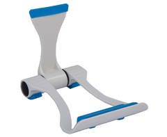 Foldable phone tablet stand - blue