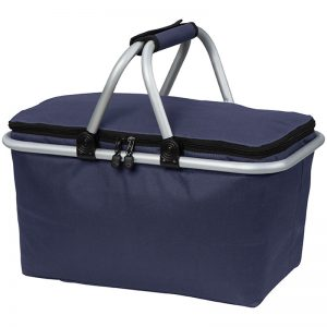 Insulated shopping picnic - navy