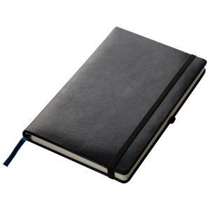 Black A5 notebook