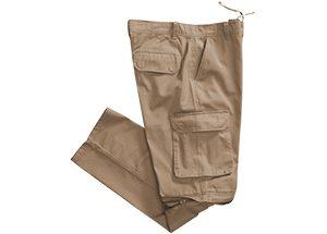CARGO ZIP OFF PANTS - tan