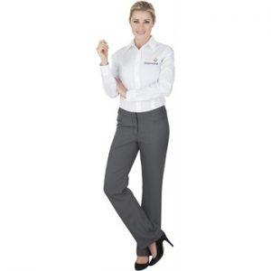 Ladies Cambridge Non Stretch Pants - grey