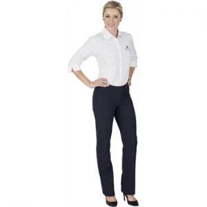 Ladies Cambridge Non Stretch Pants - navy