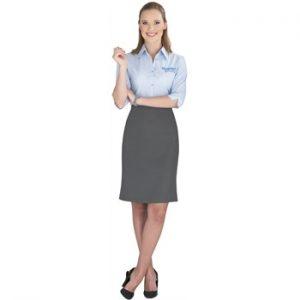 Ladies Cambridge Skirt - grey