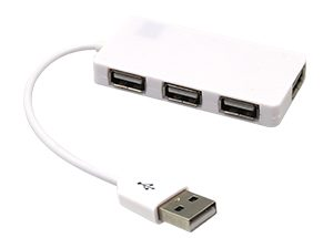 QUAD 4 PORT USB HUB