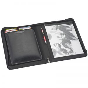 BONDED LEATHER FOLDER WITH SEPARATE IPAD CASE