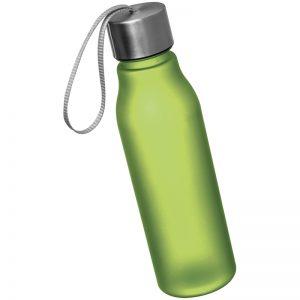 DRINKING BOTTLE WITH METAL SREW TOP - green