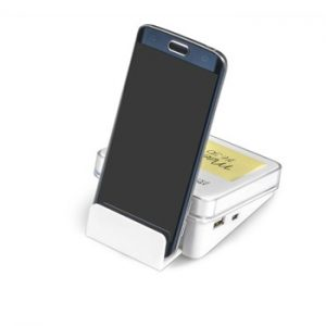 Desk Pro Sticky Notes And USB Hub