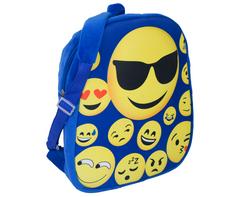 Emoji Backpack - blue