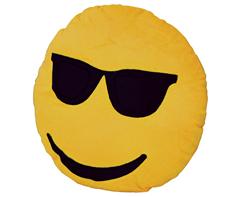 Emoji Cushion - Glasses