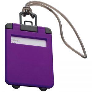 Luggage Tag Kemer - purple